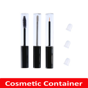 10ml Empty Clear Lip Gloss Tube Mascara Tube Eyeliner Bottle Container Beauty Tools Mini Refillable Bottles Cosmetic Container