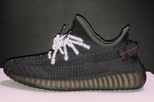 Erkekler Ayakkabı Kanye West Bahar Eğitim Tasarım Ayakkabılar Spor Ayakkabılar için 2020 Yeni colorways V2 Gerçek Formu Kil Hiperuzay Statik Spor Koşu Ayakkabıları
