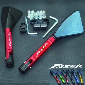 FZ1 FZ8 FZ6 Fazer için Universal Motosiklet ayna CNC yan Dikiz
