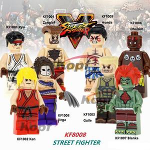 Супер Герои Ryu Dhalsim Zangief Honda Terminator Deadpool игрушки для детей KF8008