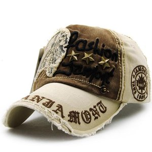 6 colores Retro remache bordado carta gorra de béisbol-para mujer para hombre Casual verano Snapback Hip Hop gorras visera camionero sombreros