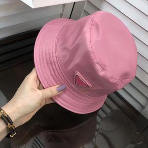 Alta calidad Unisex Cubo plegable Sombrero Mujeres Sunscreen Playa Sombrero Sombrero Headwear Pescador Cap Moda Nylon Cubo