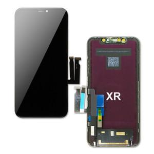 Display LCD originale per touch screen iPhone XR con digitalizzatore Assemblea parti di ricambio nero DHL libera