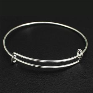 Braccialetto espandibile Bracciale filo Bracciale in argento cavo oro rosa regolabile Bracciale Bracciale semplice Bracciale regalo gioielli donna