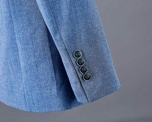 Fit New Arrival Hommes Slim 2019 robe Homme Casual manches longues cardigan hommes manteau de veste d'affaires formelle blazer hommes vêtements Taille Plus M-XXXL3