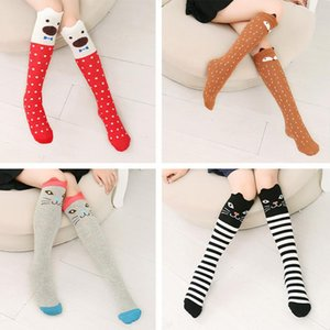 DMROLES Baby Girls Leg Warmer  Cotton Cute Little Character Knee Socks Kid Clothing Toddler Boot Socks Cartoon Dance