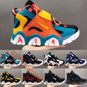 Barrage Mid Basketball Shoes For Men 2020 Designers RaptorsBlack White Cabana Black High Quality Big Boys Mens Outdoor Trainers Size 40-47