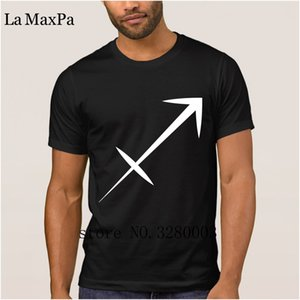 printed Newest men's t shirt sagittarius zodiac astrology men t-shirt Summer Style Letter tee shirt man clothing Top Quality