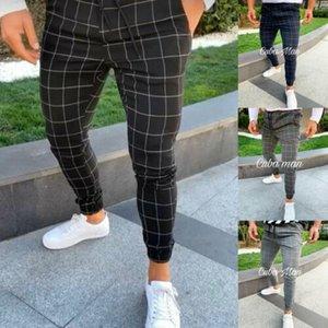2019 Academia Esporte Mens Calças Slim Fit executando Corredores Roupa calças compridas manta Sweatpants de Male