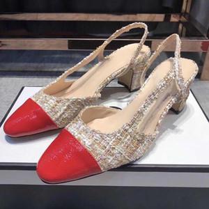créateur de marque été Casul Black Sandals Open Toe Ankle Strap Cover Talons Chaussures Femme Slingbacks Party Wedding Lady Sandales À Talons Hauts
