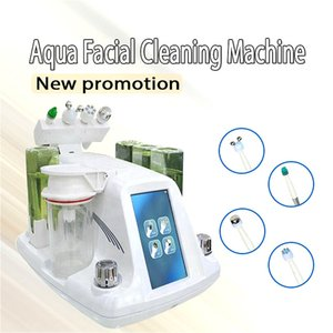 2020 Top 4 IN 1 Korea Style Skin Peeling Dermabrasion Machine Hydrafacial Dermabrasion Machine for Skin Deep Cleaning DHL Free Shipping