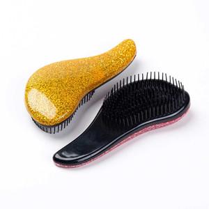 Magic Handle Comb Anti-static Hair Brush Tangle Detangle Shower Massage Hairbrush Comb Salon Hair Beauty Styling Tool
