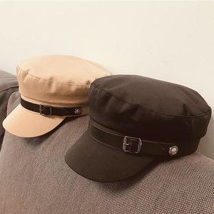 2020 New Summer Visor Cap Beach Sun Hat Fashion Belt Deco Newsboy Cape For Women Cabbie Chimal Head Wears الجملة