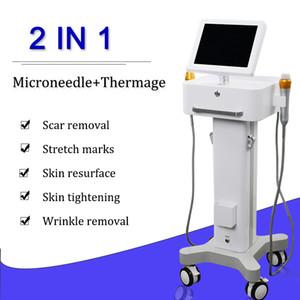 acnes izleri kaldırma Fraksiyonel RF radyofrekans Akne izleri Kaldırma için 2020 Microneedling fraksiyonel Microneedle RF tedavisi makinesi