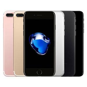 تم تجديده الأصلي التفاح iphone 7 زائد 5.5 بوصة بصمة ios a10 رباعية النواة 3 جيجابايت رام 32/128 / 256 جيجابايت rom 12mp مقفلة 4 جرام lte الهاتف dhl 5 قطع