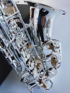 Silver Alto Марка Япония Высокое качество Саксофон альт Янагисава A-992 E-Flat Sax мундштук Рид Neck Музыкальный инструмент Free