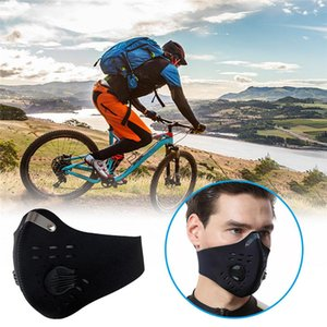 Activated Carbon Air Filter Riding Protective Respirator Mask PM2.5 Anti-smog Sunscreen Anti-pm2.5 For Riding Mouth Mask Dustproof Face Mask