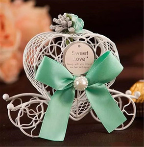 Carriage Wedding Favours Candy Chocolate Boxes Christmas Sweet Box Sugar Box Wedding Favor Box Decorations Gift Boxes