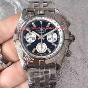 8 Stile di qualità migliore JF Maker 44 millimetri Chronograph 44 Serie AB0110121C1A1 acciaio lucido svizzero ETA 7750 movimento automatico Mens Orologi dell'orologio