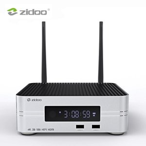 Zidoo Z10 4K HDD Media Player Up To 10TB 2G DDM 16G eMMC Smart TV Set Top Box 10Bit UHD Automatic Framerate Switching SDR to HDR