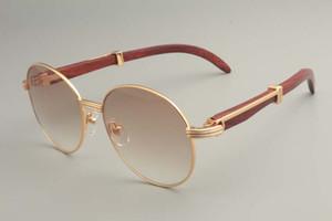2019 новый раунд солнцезащитные очки бесплатная доставка 19900692-1 очки, ретро моды солнцезащитный козырек, из натурального дерева, храмовые очки