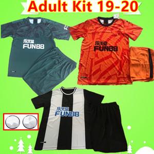 Newcastle United kit de adultos RITCHIE 2019 2020 Unidas para hombre camisetas de conjuntos de fútbol 19 20 adapte a las camisas de fútbol camiseta de color naranja 3er Maillots