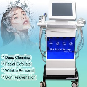 2020 NOUVEAU Hydra microdermabrasion Aqua Peeling 5 en 1 oxygène Jet Hydro visage dermabrasion peau Peeling Hydra machine visage