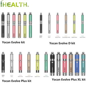 Authentisches 2020 Version Yocan Evolve Plus-XL Evolve D Wax Kräuterkonzentrat Vape Pen Vaporizer Kit 100% Vorlage