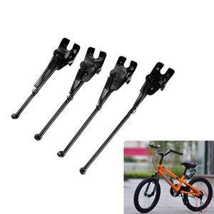 Kids Steel Cycle Bike Cycling Side Kick Stand Rear Kickstand Support for 14 16 18 20inch Bicycle Black
