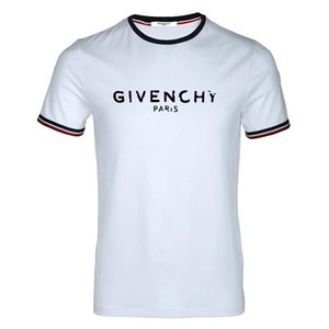 2020 High Quality Summer Men's Brand LOGO Print T-shirt Summer Fashion White Short Sleeve T Shirt For Men Casual t shirt S-3XL Hot Sale