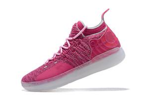 beyaz, kırmızı lüks EP Elite Düşük Sneakers Atletik koşu ayakkabıları erkek ayakkabı tasarımcısı Yakınlaştırma Kevin Durant 11'ler kapalı KD 11 Basketbol Ayakkabı