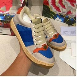 Лучшее качество моды Мужчины женщины Screener кроссовок роскошные дизайнерские туфли мода повседневная обувь размер 34-44 модель x0521