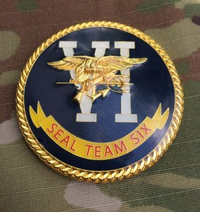 Equipe do selo da marinha 6 VI Seis DEVGRU Desafio Grupo de Desenvolvimento de Guerra Naval Coin grátis 20pcs transporte / lot
