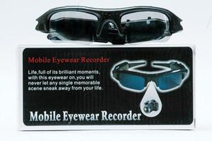 HD نظارات مصغرة DV كاميرا HD 1280 * 960P 30fps تجهيز النظارات الشمسية مسجل فيديو رقمي محمول المحمولة نظارات مصغرة دعم كاميرا بطاقة TF