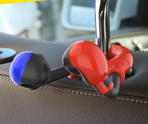 Боксерские перчатки творческая мило мода подголовник крюк, автомобиль установленного товар крюк скрытая Спинка крюк