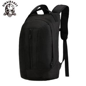 SINAIRSOFT 25L Tactical Backpack Camouflage assalto Mochila Outdoor equitação Esportes Viagens 2.5L Water Bag Trekking