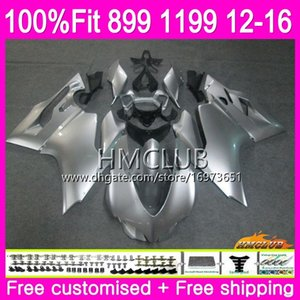 Injection Body For DUCATI 899 1199 S R Panigale 12 13 14 15 16 Gloss silver 32HM.10 899R 1199R 899S 1199S 2012 2013 2014 2015 2016 Fairing