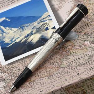 جعل القلم العلامة التجارية الفاخرة القلم الحظ سلسلة نجوم تصميم فريد رولربال / قلم حبر جاف من الدرجة العالية البيضاء مدرسة مكتب الراتنج هدية العرض