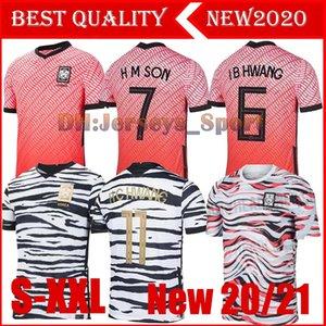 2020 South Korea soccer Jerseys SON 7 SON HUN KWON LEE KIM HO SON HYUNG KIM HOME AWAY 2021 21 JERSEY KIT FOOTBALL SHIRTS