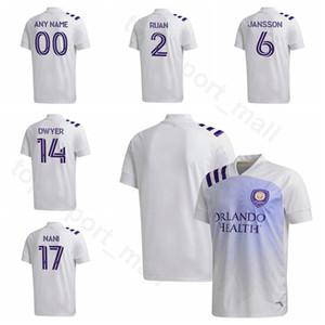 MLS Soccer SC Orlando City Jersey 17 NANI 9 MUELLER 4 MOUTINHO 14 DWYER 13 Akindele 19 MICHEL RUAN KAKA Football Shirt Kit