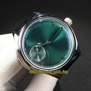 Offerta Speciale nuovo di alta qualità Portugieser 524.204 Verde Quadrante meccanico a carica automatica 524205 Mens cassa dell'orologio Silvery Orologi sportivi