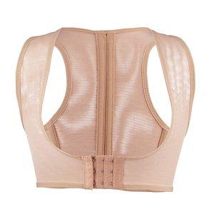 Mulheres Bust Lift Corrector Postura Ajustável Back Corset Brace Humpback Correção Banda Beleza Shaper Suporte Belt Shaper
