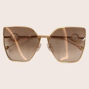 2019 خمر نظارات المرأة الجديدة نمط القط العين إطار معدني نظارات الشمس الرجعية الكلاسيكية ظلال أنثى uv400 0323