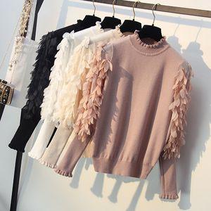 ONLYSVTER Euro Style Pull Tricoté Femmes Printemps Automne Outwear Casual Pull Chandail Designer De Mode Femelle Jumper