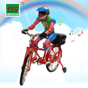 Müzik Aydınlatma Çocuk Eğitim Oyuncaklar ile Electric Bicycle Toptan Simülasyon