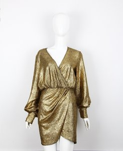 Golden Lame Dress
