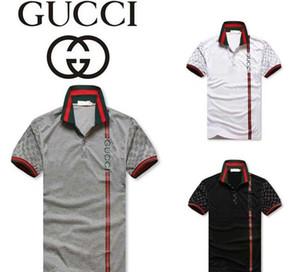 venta caliente de la moda de Nueva G G polo bordado camisetas para los hombres hombre de la moda camisa de polo de la camisa de polo envío G1