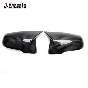 Carbon rearview Mirror Cover For BMW X2 F39 X1 F48 F45 2 Series F46 GT F49 Mirror cover 2014 2015 2016 2017 2018 2019