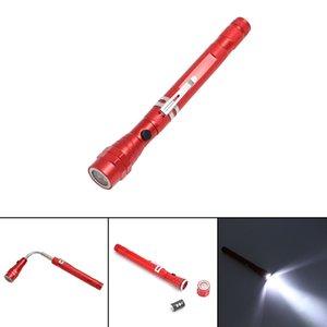 Novo Padrão 3LED Can flexível lanterna Mais Função Pen Lamp Ferramenta Lamp ambas as extremidades Traga magnetismo flexível Pick Up Organ Flashlight