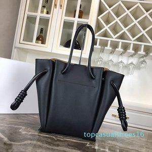 Classic Leather Fashion Handbag Flamenco nodo tote bag Lady Piccolo Totes borse griffate borse di lusso borse delle donne casuali borse tote AT16